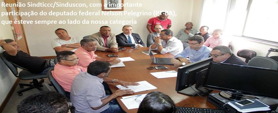 Reunião na Sinduscom